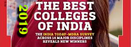 India Today - All India Ranking of Arts & Science Colleges Ranking 2019